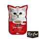 Kitcat呼嚕嚕肉泥-皮毛保健配方(鮪魚) 60g 貓零食 貓肉條 貓肉泥 化毛 牛磺酸 保健零食 product thumbnail 1