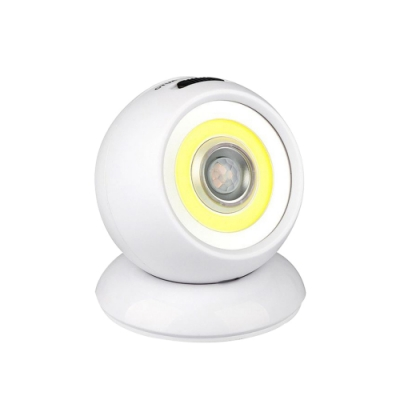 【MS】LED極亮光珠-自動感應360度旋轉小夜燈(2入組)