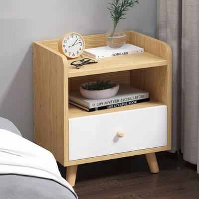 [時時樂限定] HappyLife 一抽床頭櫃(2色) 40×35×50CM
