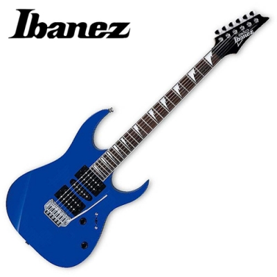 IBANEZ GRG-170DX 雙單雙/小搖座/電吉他(JB)~藍色