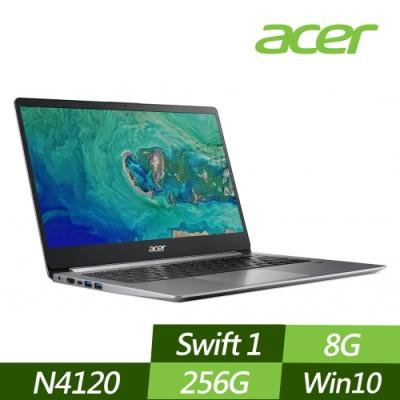 ACER 宏碁 SF114-32-C97B 14吋文書筆電 N4120/8G/256G PCIe SSD/Win10