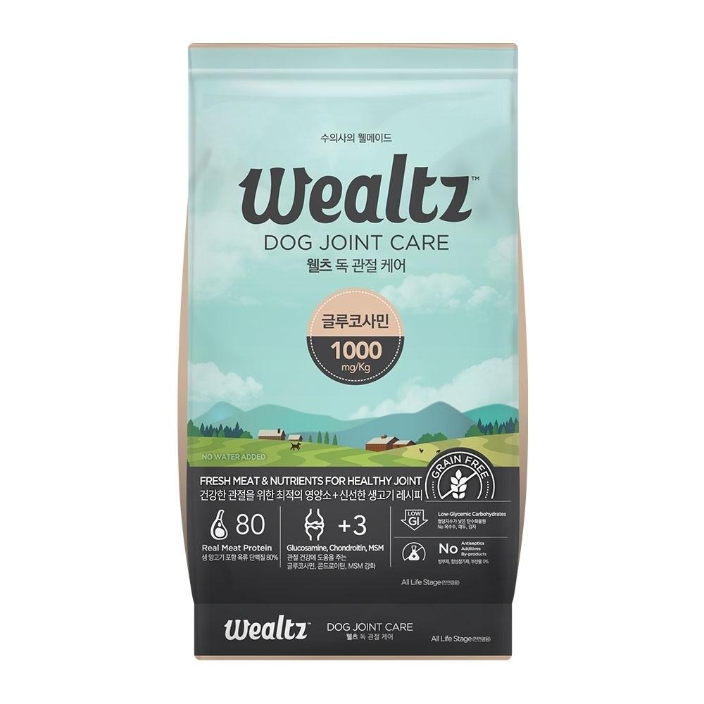 Wealtz維爾滋天然無穀寵物糧-關節保健犬食譜 2.1kg (300g*7EA)【兩包組】