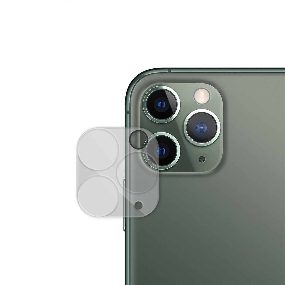 Metal-Slim Apple iPhone 11 Pro Max 全包覆鋼化玻璃鏡頭貼