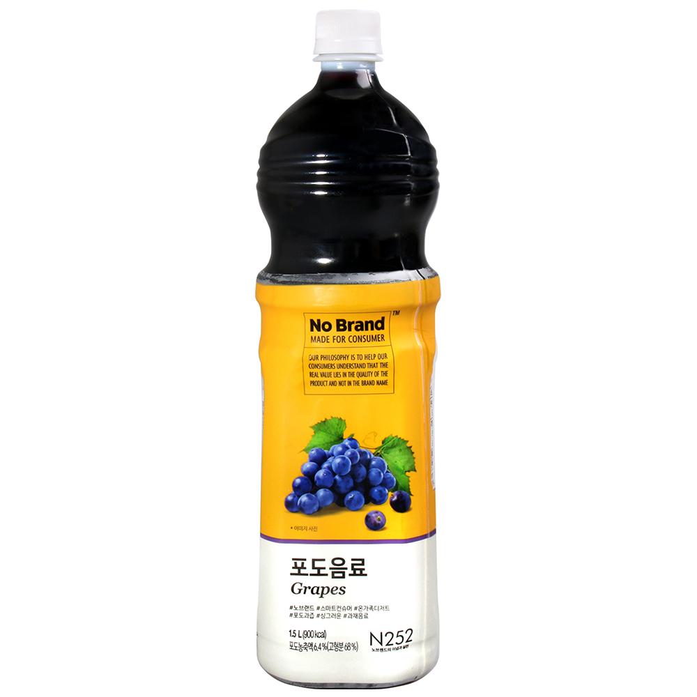 NO BRAND 葡萄果汁飲料(1.5L)
