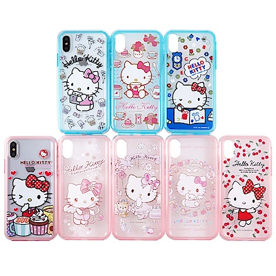 Hello Kitty彩繪二合一雙料殼套_iPhone系列