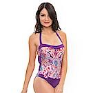 Avalanche巴西泳裝-西雅圖-平口連身泳裝(紫)