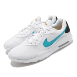 Nike 休閒鞋 Air Max Oketo 運動 男鞋 輕量 透氣 舒適 氣墊 避震 簡約 白 藍 AQ2235106
