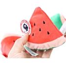 VICKY》寵物潔牙玩具三角西瓜12*12*8.5CM