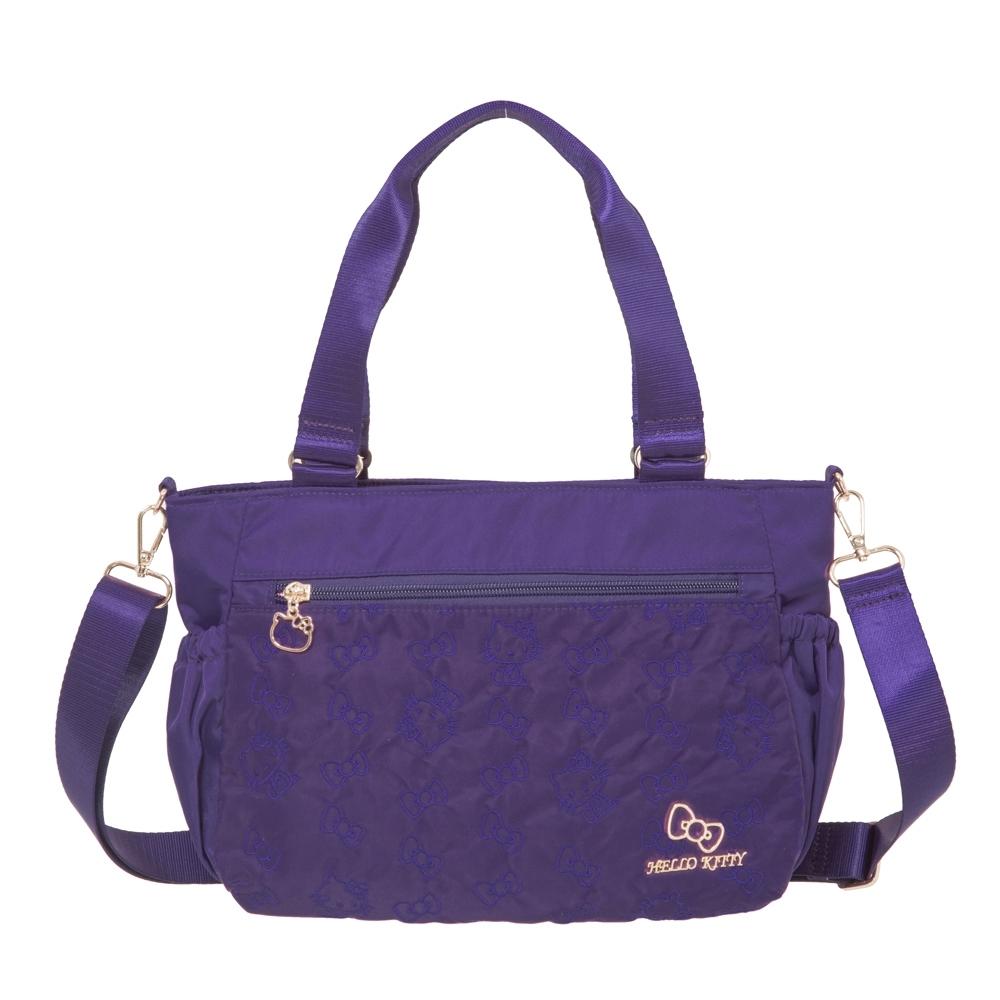 【Hello Kitty】快意之旅-兩用側背包-紫 KT01R05PL