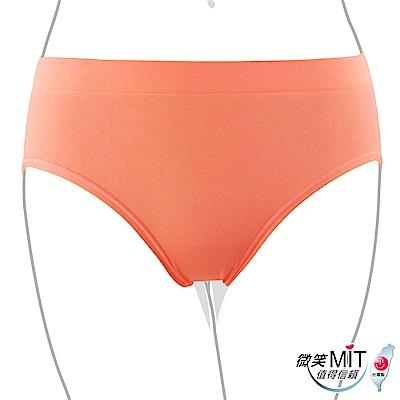 推EASY SHOP-iMEWE 中低腰三角褲(甜蜜橙)