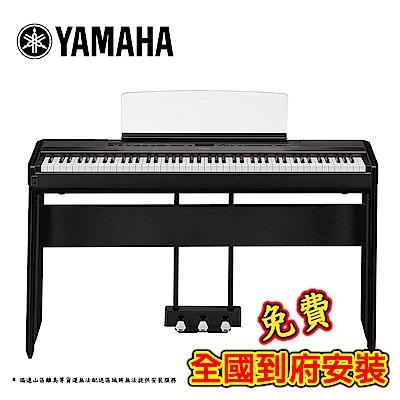 [無卡分期-12期] YAMAHA P515 BK 木質琴鍵電鋼琴 旗艦機種 曜岩黑色