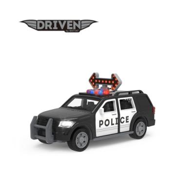 Battat 迷你特勤警車_Driven系列 模型車