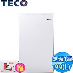 東元 99L 1級定頻單門電冰箱 小鮮綠