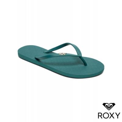 【ROXY】VIVA IV 夾腳拖 藍綠
