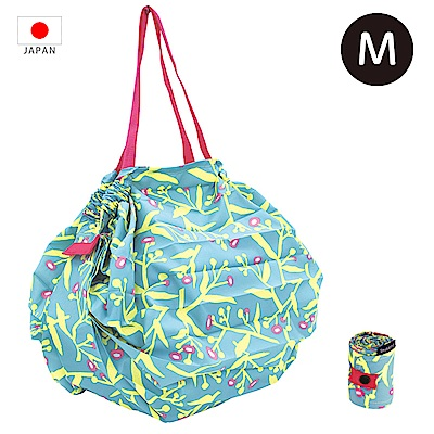 【日本Marna】Shupatto 秒收摺疊環保袋 (M) 花草