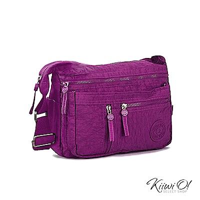 Kiiwi O! 輕便隨行系列 機能收納單肩包 FINLEY 紫