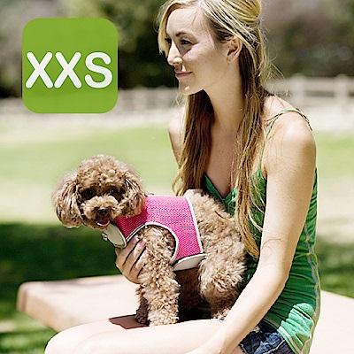Crazypaws瘋狂爪子 多層次透氣網布護胸XXS號-寵物外出胸背帶 (寵物項圈)