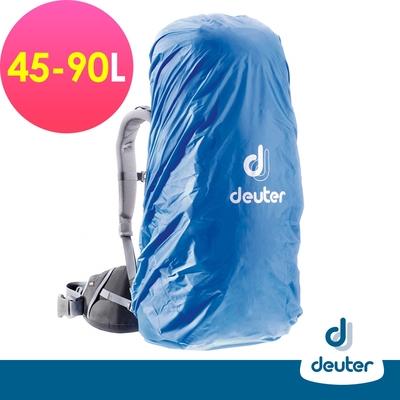 【deuter 德國】 RAIN COVER防水背包套45L-90L(39540藍/防髒抗汙/防塵套/登山背包雨具)