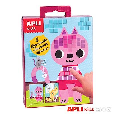 西班牙APLI 馬賽克拼貼-寵物(4Y+)
