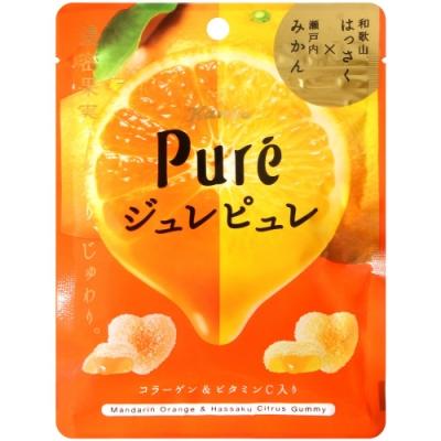 KANRO Pure雙色蜜柑軟糖(63g)