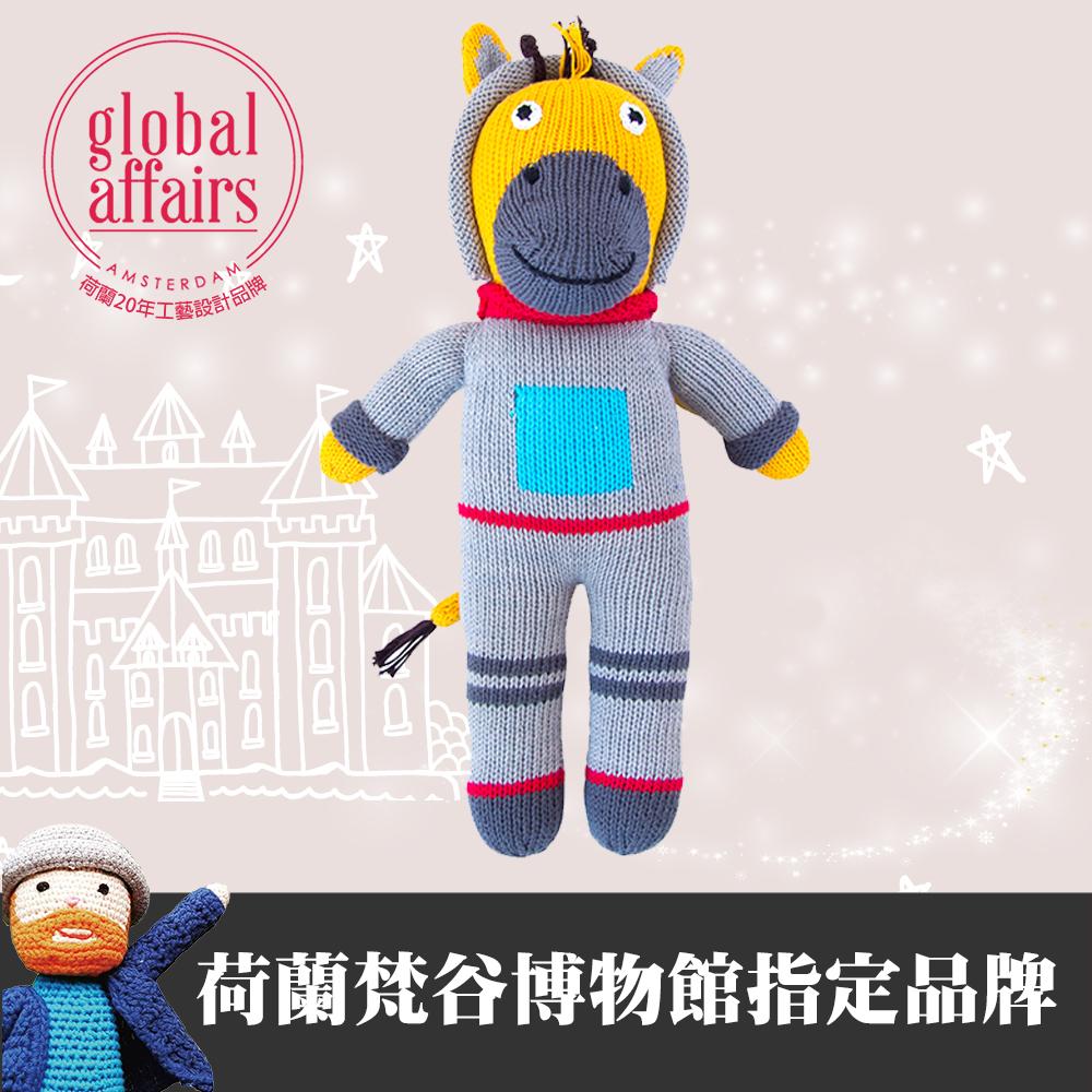 global affairs 童話手工編織安撫玩偶(36cm)-長頸鹿