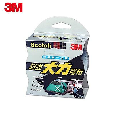 3M 超強大力膠布防水耐高溫膠帶 48mmx9.14m 黑色 (131DC)