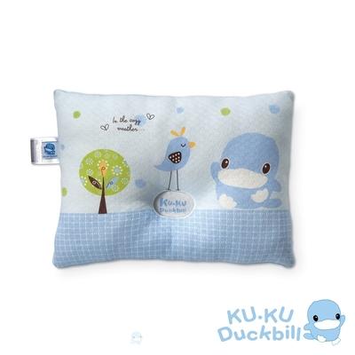 KUKU酷咕鴨 啾啾鳥護頭枕(藍/粉)
