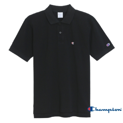 Champion Basic 經典素面Polo衫 黑色