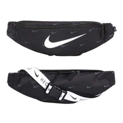 NIKE 中型側背包-臀包 側背包 斜背包 肩背包 DC7343-010 黑白