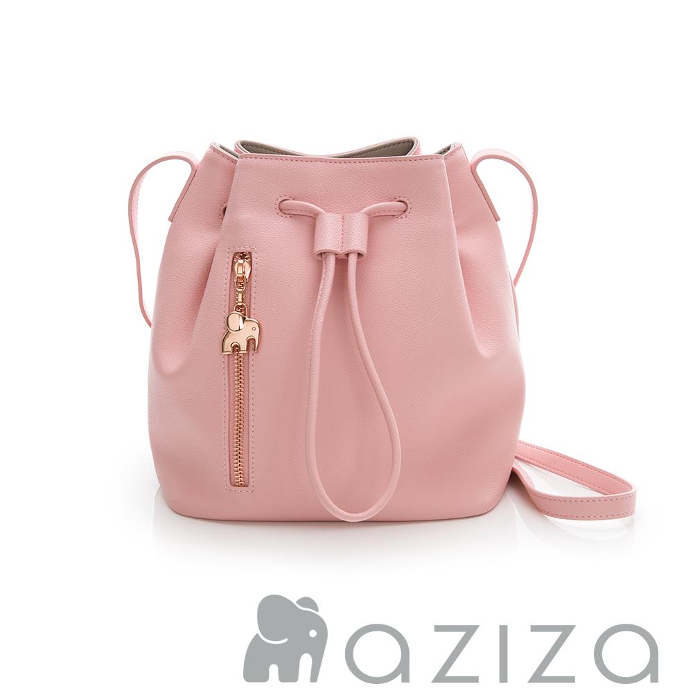 aziza MAHA水桶包-粉
