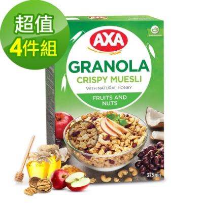 699免運瑞典AXA綜合水果堅果穀物麥片4件組375gx4