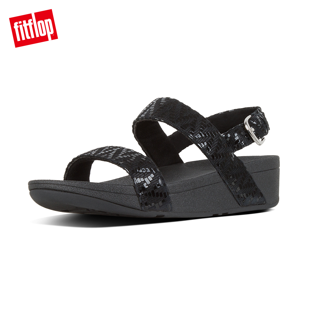 FitFlop LOTTIE  BACK-STRAP SANDALS-黑色 product image 1