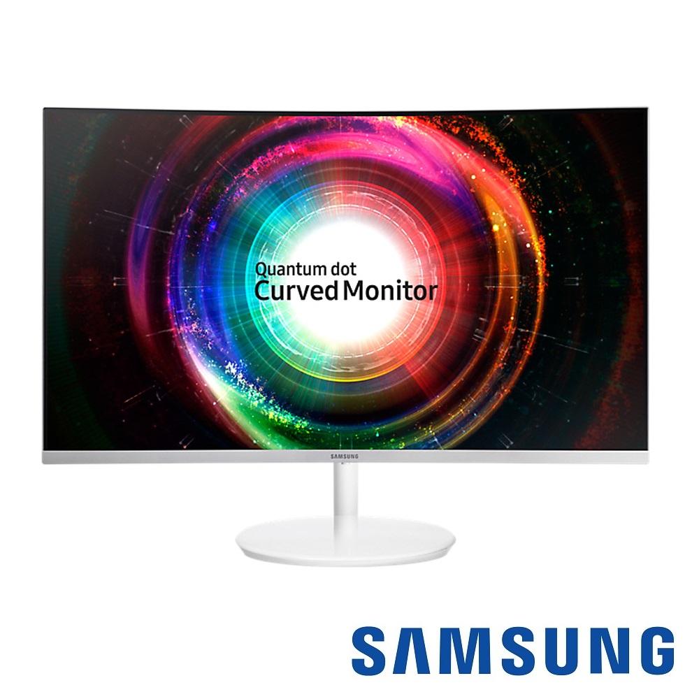 SAMSUNG C32H711QEE 32型 VA曲面電腦螢幕