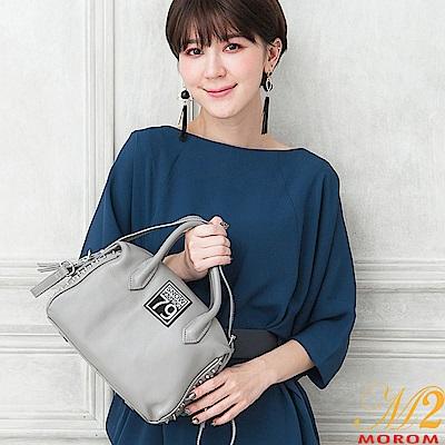 MOROM 真皮街頭時尚率性鉚釘三用包(共三色) @ Y!購物