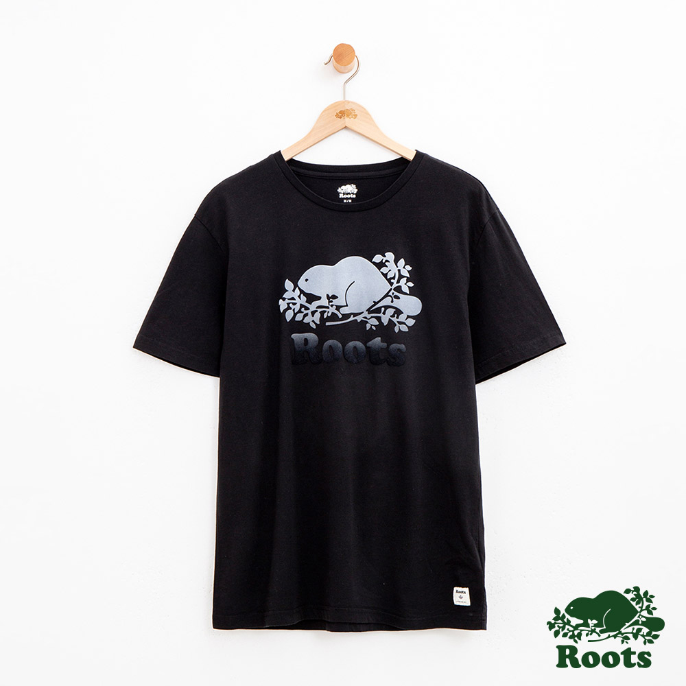 男裝Roots 庫柏漸層短袖T恤-黑