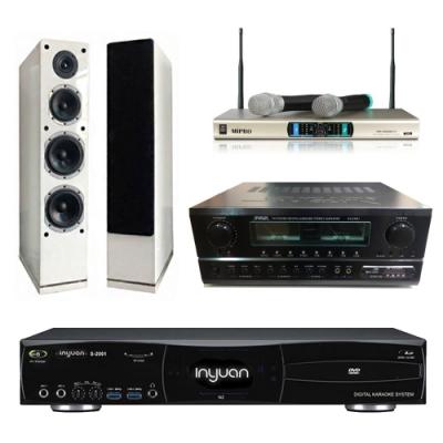 音圓N2+SA-830U+AS-168+MR-3000D IV(伴唱機 4TB+卡拉OK套組)