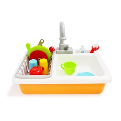 【Playful Toys 頑玩具】仿真電動出水洗碗槽