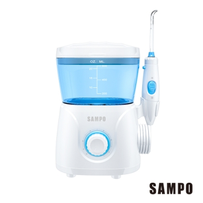 SAMPO聲寶家用型健康沖牙機(WB-N1801YL)-內附七支噴嘴
