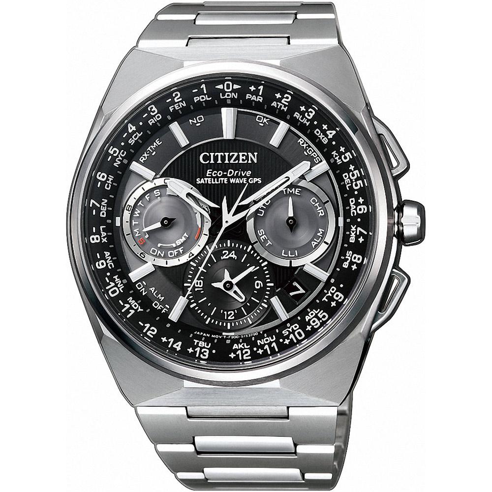 CITIZEN星辰 GPS定位對時光動能旗艦腕錶(CC9009-81E)-45mm @ Y!購物