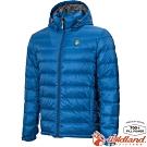 Wildland 荒野 0A72102-77中藍色 男收納枕拆帽極暖鵝絨外套