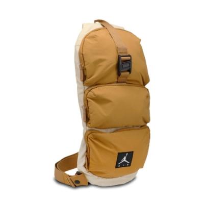 Nike 斜背包 Jordan Shoulder Bag 喬丹 飛人 外出 輕便 休閒百搭 黃褐 棕 JD2113014AD002