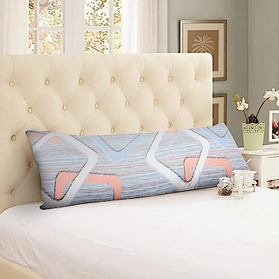 CERES 席瑞絲 天絲表布 泰國雙人天然乳膠長枕/孕婦靠枕