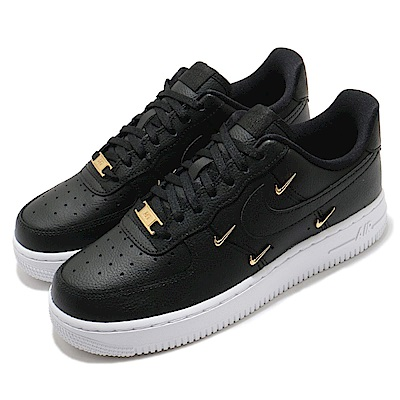 Nike 休閒鞋 Air Force 1 07 LX 女鞋 基本款 簡約 質感 炫雅同款 穿搭 黑 白 CT1990001