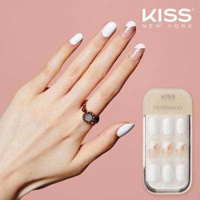 KISS New York-Press&Go頂級光療指甲貼片(午茶約會 KPN13K)