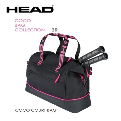 HEAD Coco Court Bag 衣物袋/網球/壁球/羽毛球/ 黑桃283641