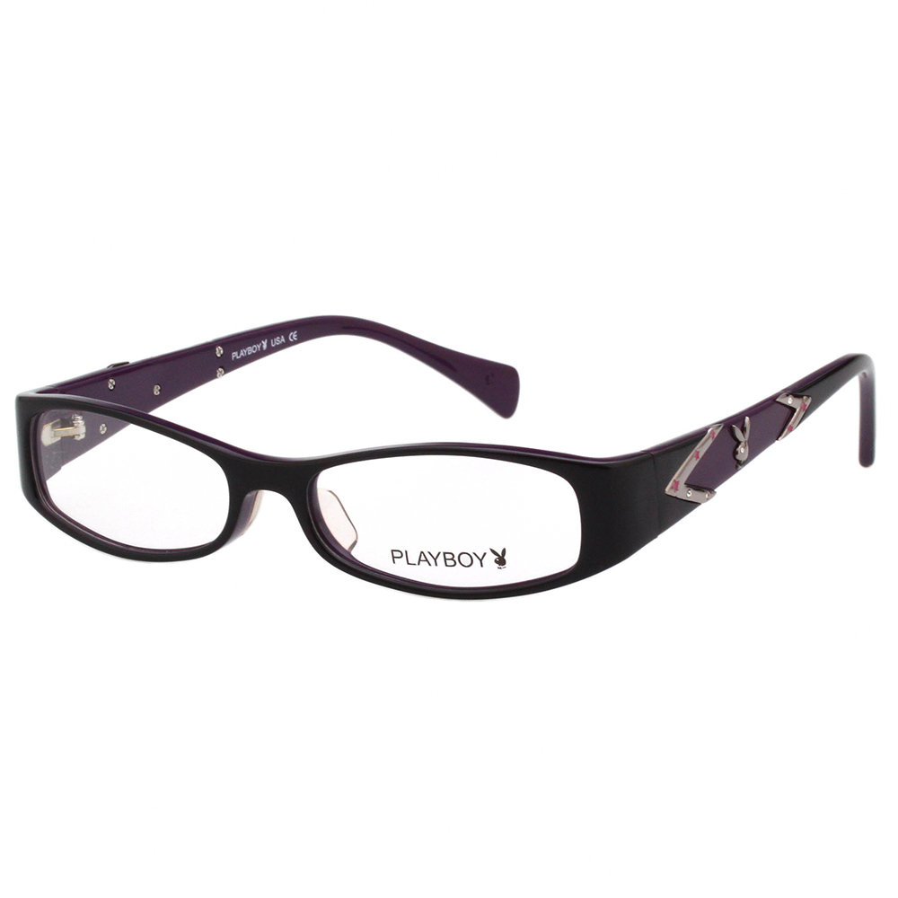 PLAYBOY-時尚光學眼鏡-黑色-PB85083