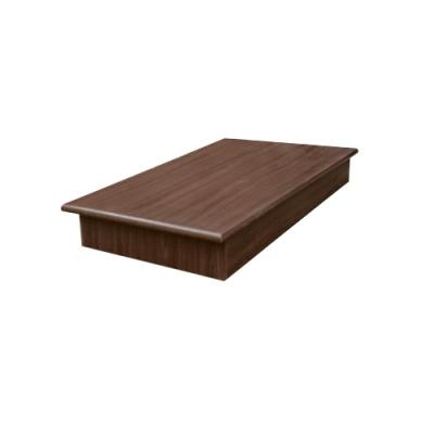 愛比家具 3.5尺單人加大強化6分硬床底(兩色可選)