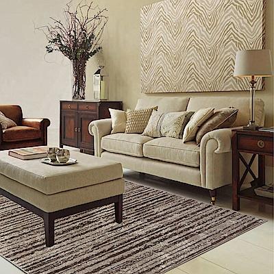 Ambience 比利時Shiraz 時尚地毯-線條灰 160x230cm