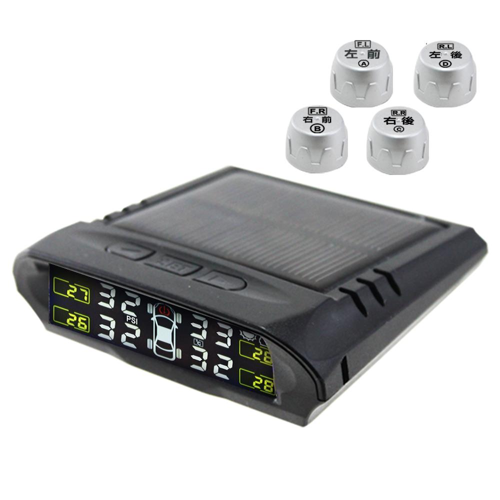 黑武士 太陽能無線胎溫胎壓偵測器