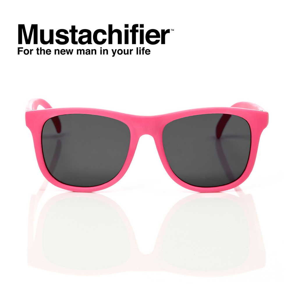 Hipsterkid 美國 抗UV時尚嬰童偏光太陽眼鏡 - 桃紅款 (3-6歲)